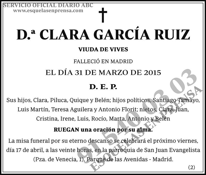 Clara García Ruiz